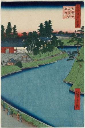 Kōjimachi and the Benkei Moat at Soto-Sakurada
