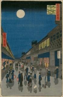 Night view of Saruwaka-chō