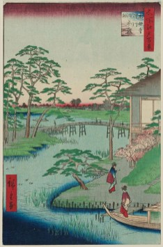 Mokubōji Temple and Vegetable Fields by the Uchi River