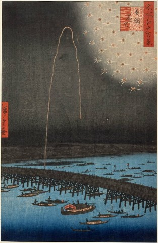 Fireworks at Ryōgoku