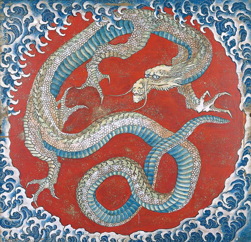 hokusai dragon obuse