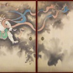 The God of Wind and Thunder by Suzuki Kiitsu