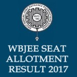 West Bengal WBJEE Seat Allotment Result 2017