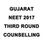 Gujarat NEET 2017 Third Round Online Choice Filling