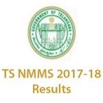 Telangana NMMS Nov 2017-18 Results