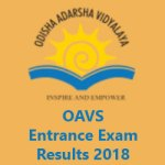 OAVS Entrance Exam Result 2018