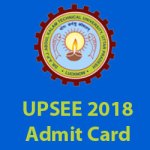 UP State Entrance Exam Admit Card 2018