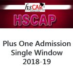Kerala Plus One Admission 2018