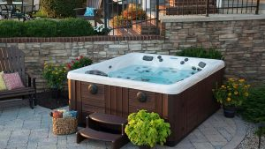 Backyard Ideas For Hot Tubs And Swim Spas
