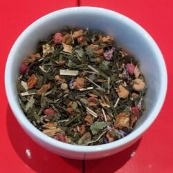 Groene thee herfst