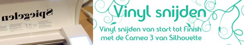 Vinyl snijden met de Cameo en de automatische mes – Uitleg