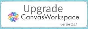Brother Canvas Workspace upgrade versie 2.3.1