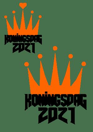Gratis Koningsdag design voor je Brother ScanNCut of Silhouette machine