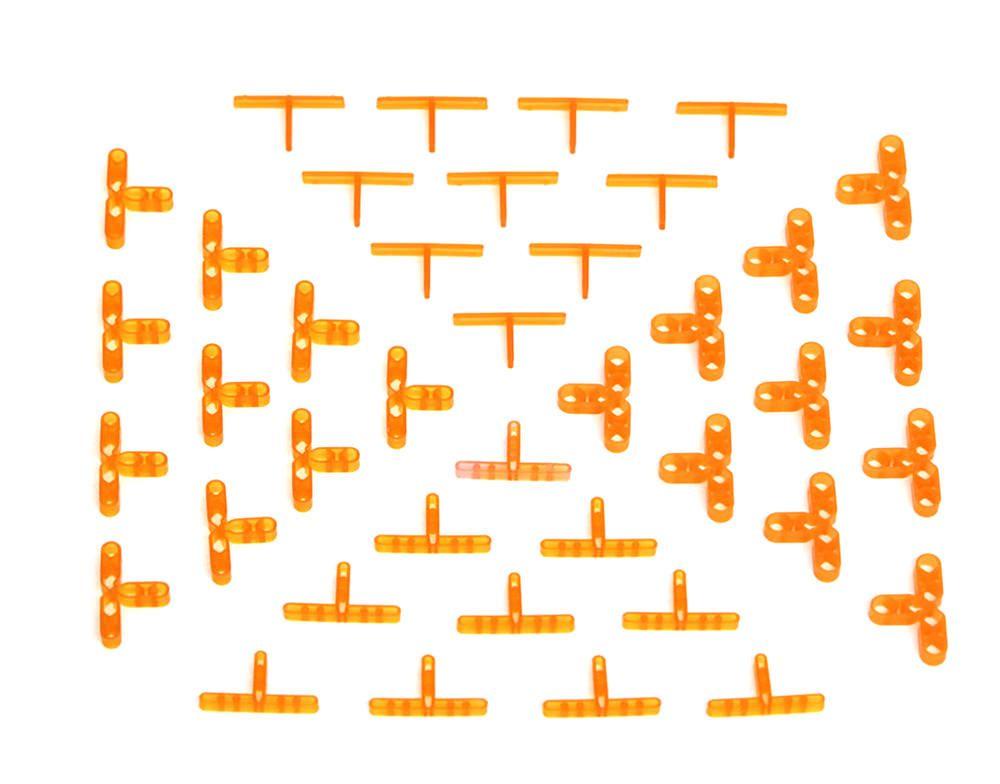 barwalt hollow leave in t tile spacers 1 16 3 16 1 8 1 4