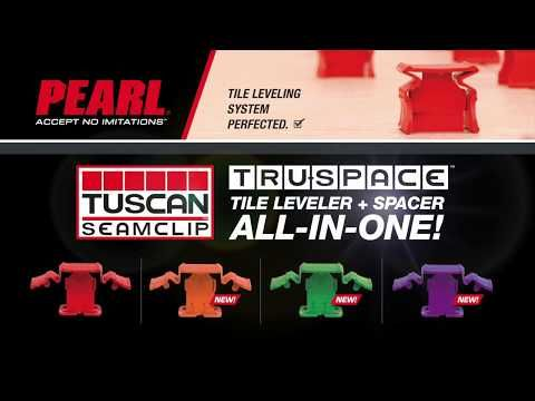 tuscan truspace red seamclip leveling system