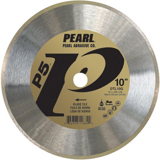 pearl abrasive p5 dtl glass tile blades
