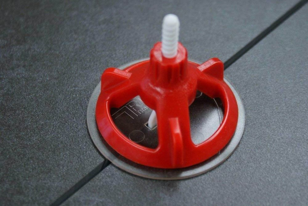 rtc spin doctor tile leveling system red cap 100pc