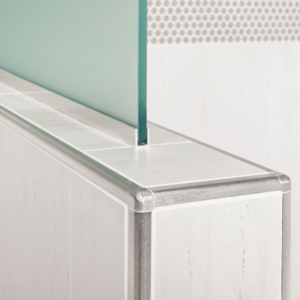 schluter rondec stainless steel tile trim outside corner