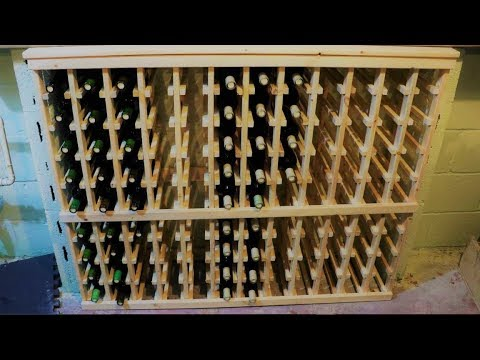 Homemade Wine Rack – Part 2: Wood Cutting and Assembly