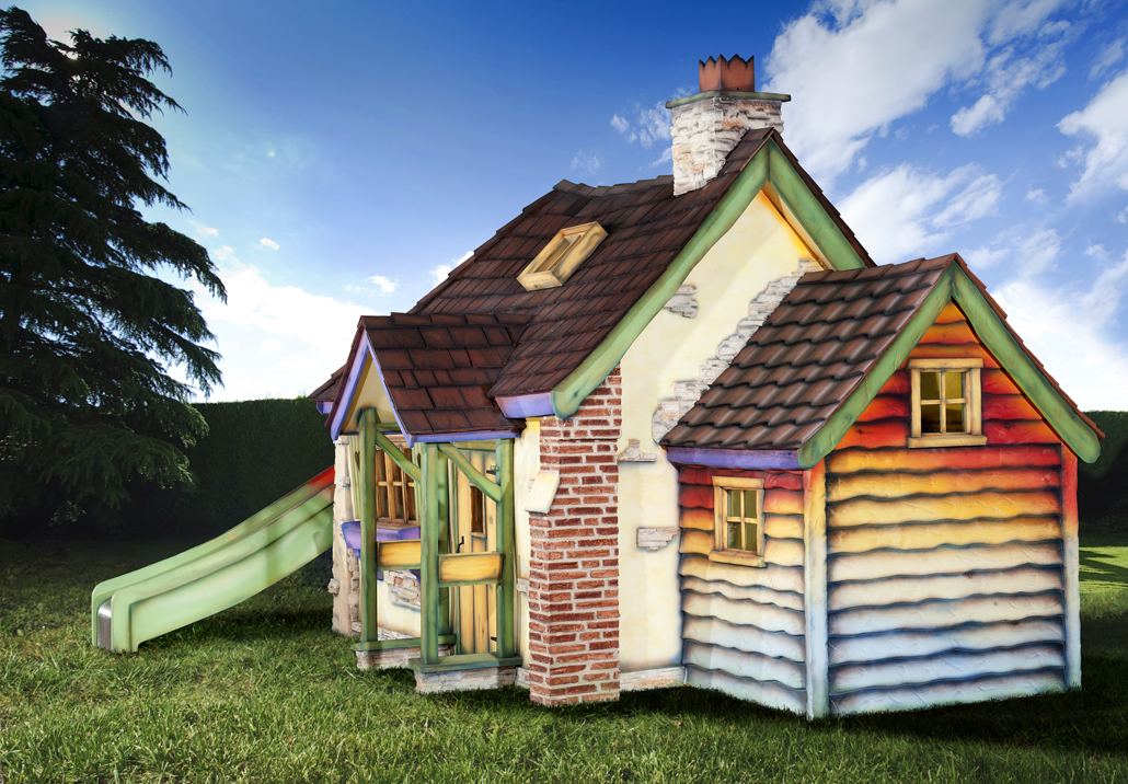 Folly Flower Cottage Luxury Bespoke Outdoor Wooden Playhouse