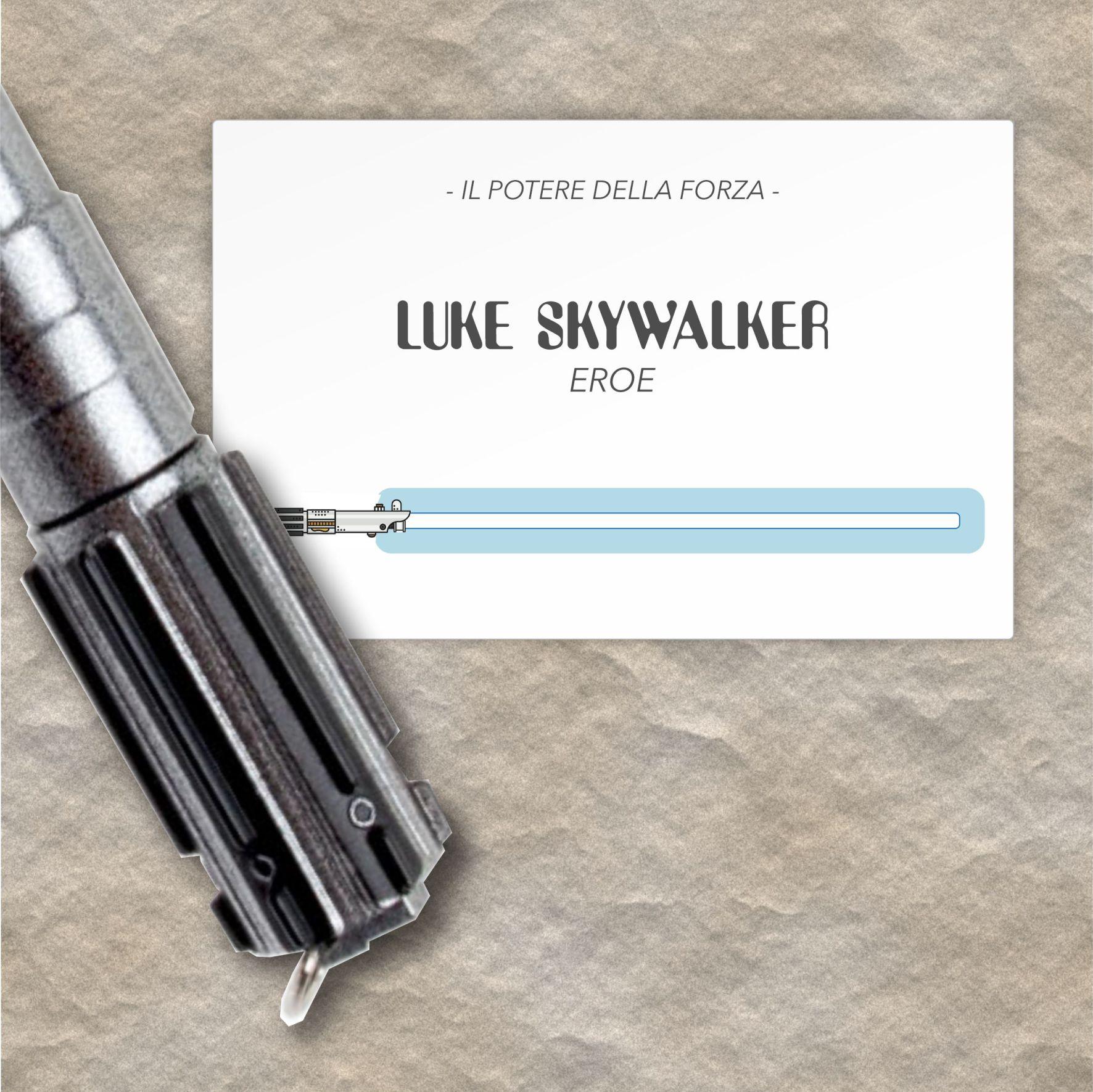 Luke Skywalker - VIP Business Cards | MASTROiNCHIOSTRO