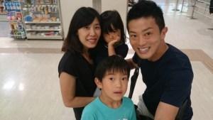医療法人ライフスマイル 家族との写真