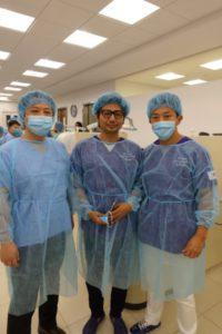 サイナスリフト手術のパートナー中村先生と