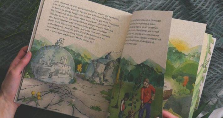20201110 Kinderbuch Kinder der Erde Gudrun Pausewang Pinterest matabooks - Nachhaltig durch den Advent