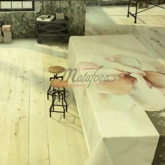 Tovaglia da tavola Emily disegno Magnolia.