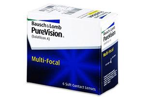 Πολυεστιακοί φακοί PureVision Multi-Focal για την πρεσβυωπία