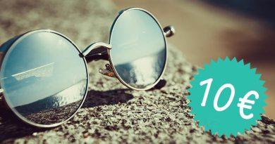Γυαλιά ηλίου με 10 ευρώ