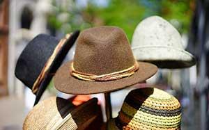 Το καπέλο προστατεύει τα μάτια από την ηλιακή ακτινοβολία