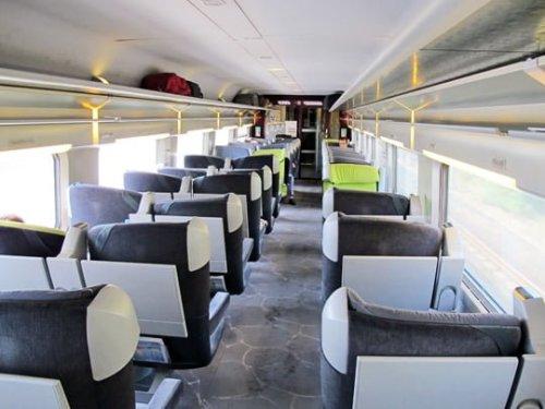TGV Antibes - Geneve