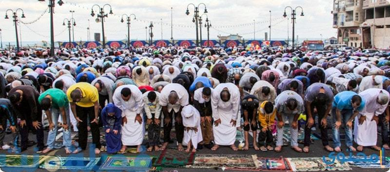 موعد صلاة عيد الفطر 2018