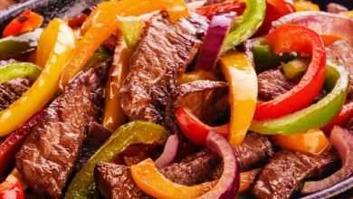 فاهيتا اللحم بالخضار لمرضى السكري