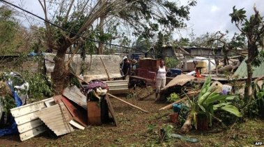 From BBC: Many residents who survived the storm will find they have little left.