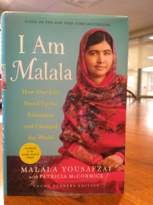 I Am Malala: How One Girl Stood Up for Education and Changed the World. Photo credit: Ellie Fleming