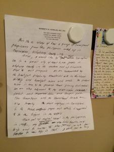 Granddad's Letter