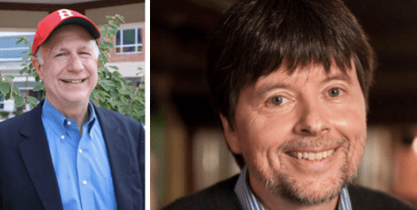 Dr. Ross and Ken Burns