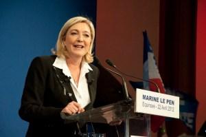 Marine Le Pen Photo credit:Remi Noyon om flickr