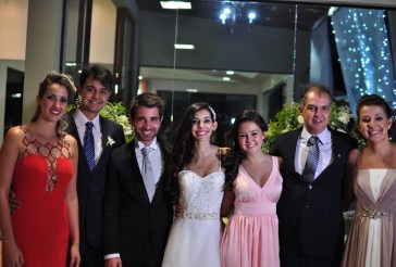 My family in my sister's wedding last year. From the left to the right: my sister in law, my brother, my brother in law, my sister, me, my father and my mother. Photo Credit: Thiago Sposito