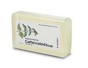 Caffeinated Soap