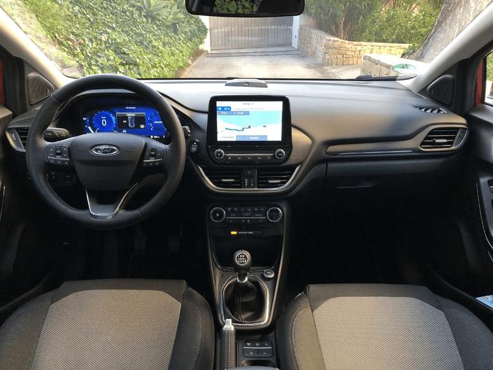 Interior Ford Puma Ecoboost 2020