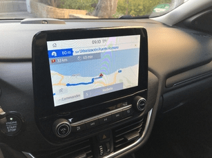 Multimedia system of ford puma ecoboost 2020