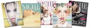 several magazines images