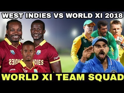 West Indies vs World XI-Only T20I-Ball By Ball Today Match Prediction