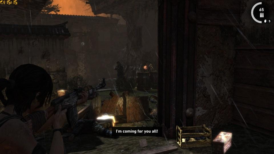 Tomb Raider shootout