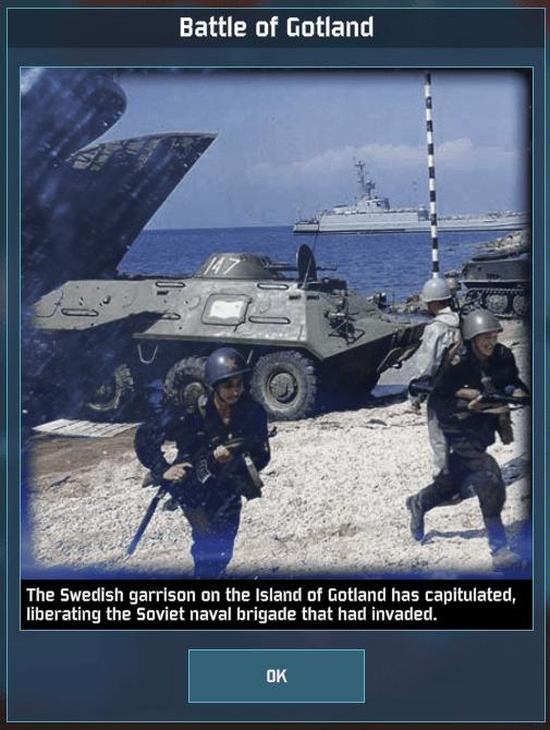 WAB Day 4 Fall of Gotland