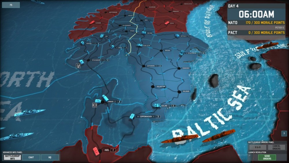Let's defend Scandinavia in Wargame: AirLand Battle! Part 2 (FINAL): Who Dares, Wins (1/6)