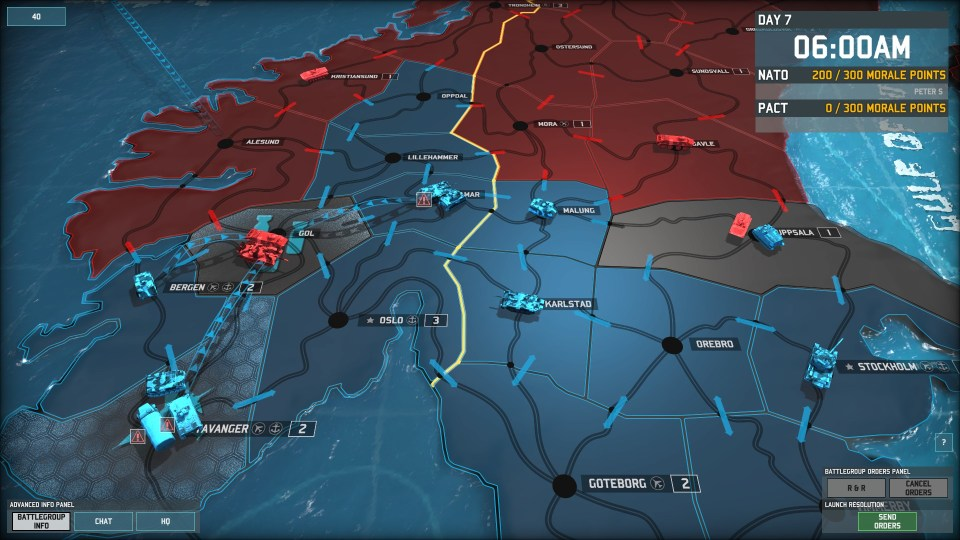 WAB Day 7 NATO Counterattack